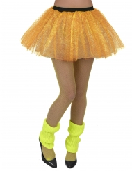 Saia amarela fluorescente adulto