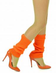 Polainas cor-de-laranja mulher