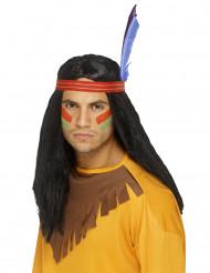 Peruca índio homem