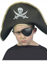 Chapéu pirata para criança