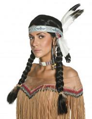 Peruca índia mulher