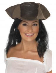 Chapéu + cabelos pirata
