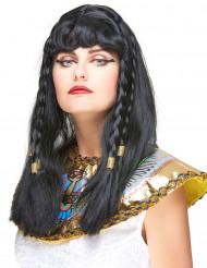Peruca Cleópatra para mulher