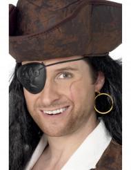 Brinco e pala de pirata