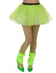 Tutu verde fluo mulher