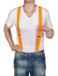 Suspensórios cor-de-laranja
