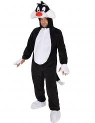 Disfarce de Silvestre™ Looney Tunes para adulto