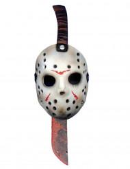 Faca do talho e másara Jason™ Sexta-feira 13