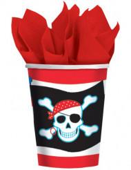8 Copos pirata