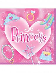 16 Guardanapos em papel Princess 33 x 33 cm