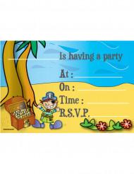 8 Convites pirata