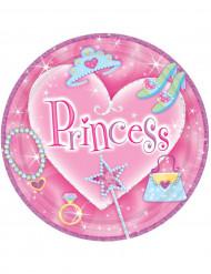 8 Pratos princesa