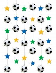 Decorações para pendurar futebol