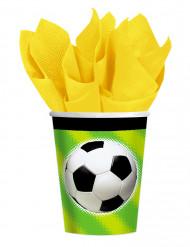 Copos bola de futebol