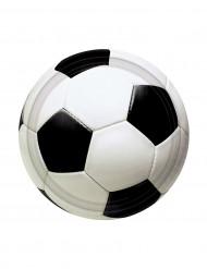 8 Pratos bola de futebol