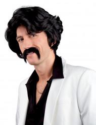 Peruca chuck com bigode homem