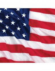 Guardanapos bandeira americana