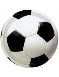 8 Pratos balão de futebol