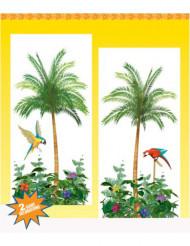 Decorações murais palmeiras