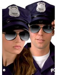 Óculos de polícia para adulto