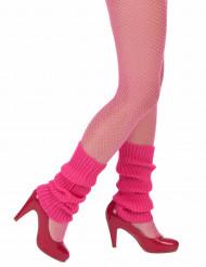 Polainas cor-de-rosa