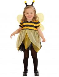 Disfarce de abelha para menina bebé