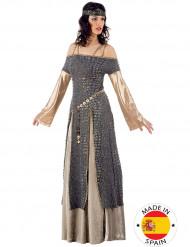 Disfarce de Lady Guinevere de luxo para mulher