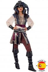 Disfarce de pirata de luxo para mulher