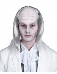 Peruca zombie branca homem