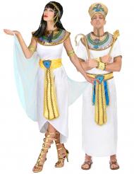 Disfarce casal egípcios