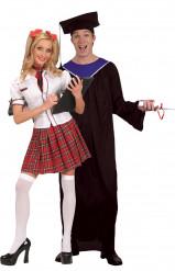 Disfarce de casal Estudantes