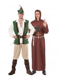 Disfarce de casal Robin e monge dos bosques