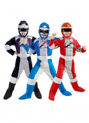 Disfarce trio Power Rangers™ crianças