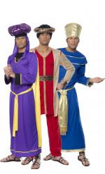 Disfarces dos reis Gaspar, Baltasar e Belchior Natal