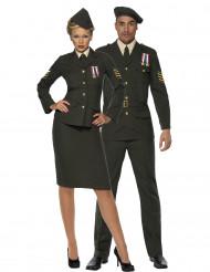 Disfarce de casal oficial militar