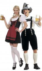 Disfarce casal de bávaros