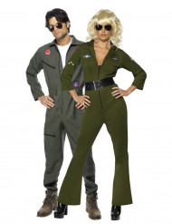 Disfarce de casal aviadores Top Gun™