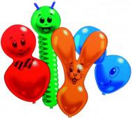 10 Balões de figuras animais