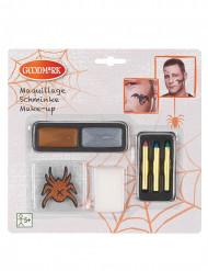 Maquilhagem brilhante e tatuagem Halloween