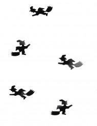 Confettis de mesa bruxa halloween