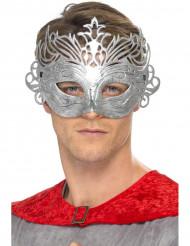 Máscara veneziana cor metal adulto