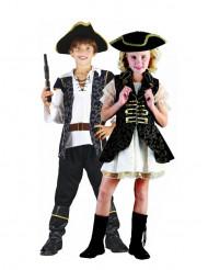 Disfarce casal piratas criança
