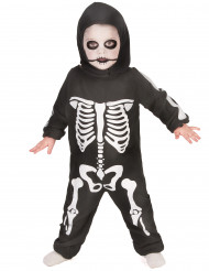 Disfarce esqueleto rapaz Halloween