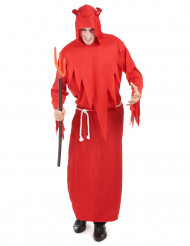 Disfarce diabo homem para Halloween