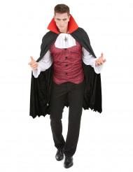 Disfarce conde vampiro homem Halloween