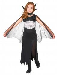 Disfarce bruxa aranha para menina Halloween