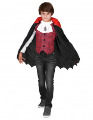 Disfarce de vampiro especial Dia das Bruxas menino