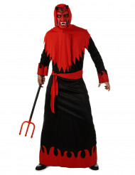 Disfarce diabo do inferno homem Halloween