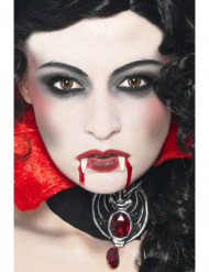 Kit maquilhagem vampiro adulto Halloween