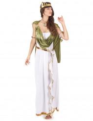 Disfarce deusa grega chique mulher